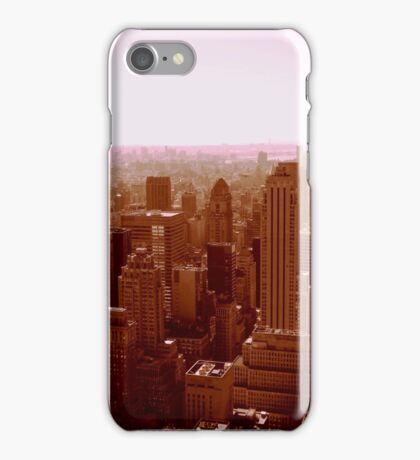 Hazy Empire State Building NYC  iPhone Case/Skin