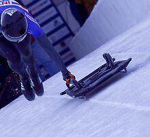 2014 U.S. Olympic Skeleton Racer Katie Uhlaender by Judson Joyce