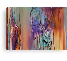 Babe, Im Gona Leave You (Full Painting) Canvas Print