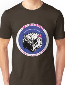 I AM A TRICERATOPS - Pink/Blue MBH Unisex T-Shirt