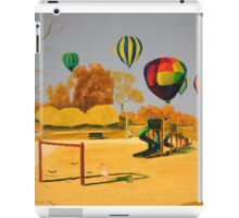 Hot Air Balloons over College Hill Park iPad Case/Skin
