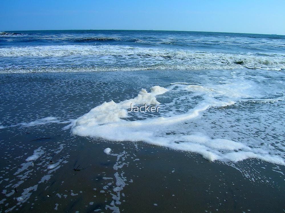 Low tide after hurricane by Jacker