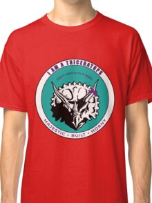 I AM A TRICERATOPS - Teal/Purple MBH Classic T-Shirt