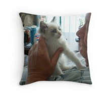 Are You my New Papa? Throw Pillow