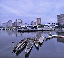 Manila Long Boats by Rexel Agapay