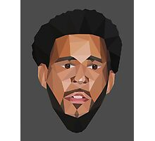 J. Cole Lowpoly Photographic Print