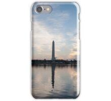 Washington Memorial rise iPhone Case/Skin