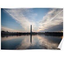 Washington Memorial rise Poster
