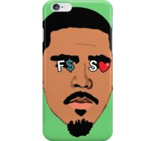 J. Cole F$SL iPhone Case/Skin