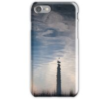Washington Memorial upside down iPhone Case/Skin