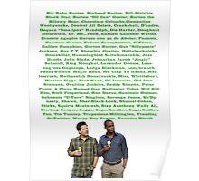 """Gus """"Sillypants"""" Jackson Poster"""