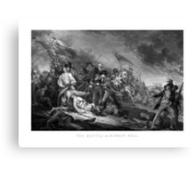 Battle of Bunker Hill Canvas Print