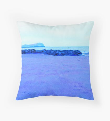 Lone Beach Throw Pillow