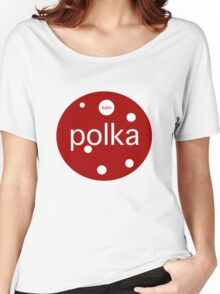 Le Tour: Polka Dot Women's Relaxed Fit T-Shirt