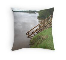 Manning River in Flood Throw Pillow