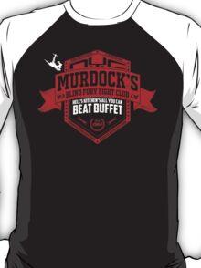 Murdock's Blind Fury Fight Club - Dist Red/White V02 T-Shirt