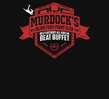 Murdock's Blind Fury Fight Club - Dist Red/White V02 Unisex T-Shirt