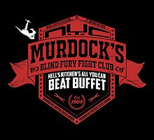 Murdock's Blind Fury Fight Club - Dist Red/White V02 by coldbludd