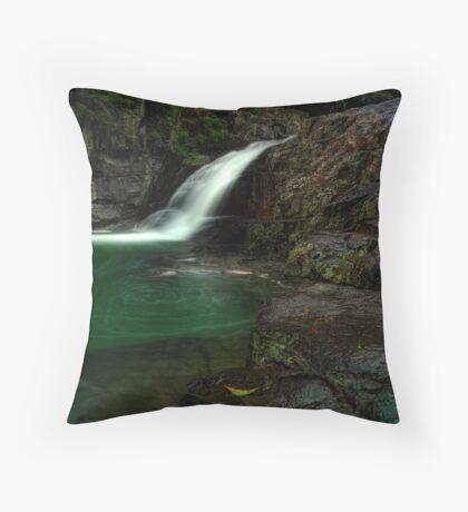Cedar Creek Falls, Brisbane Throw Pillow