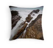 Rough Slipway Throw Pillow
