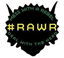 #RAWR Photographic Print
