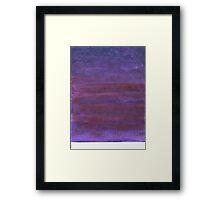 Purple Skyscape Framed Print