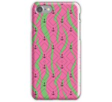 Ripped Anchor Pattern iPhone Case/Skin