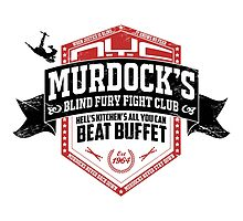 Murdock's Blind Fury Fight Club - Dist Black/Red/White 02 by coldbludd