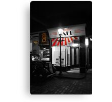 Continental Cafe Canvas Print