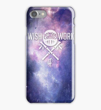 Wish and Work Galaxy iPhone Case/Skin