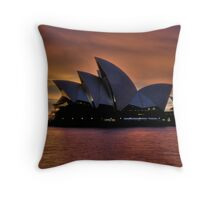 Diva Takes A Bow - Moods Of A City - The HDR Experience Throw Pillow
