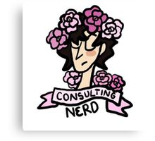 Consulting Nerd Canvas Print