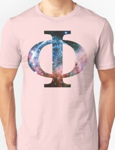 Thor's Helmet Nebula | Uppercase Phi T-Shirt