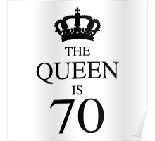 The Queen Is 70 Poster