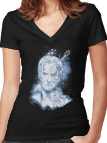 searching for gallifrey desperatly Women's Fitted V-Neck T-Shirt