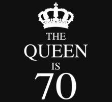 The Queen Is 70 by thepixelgarden