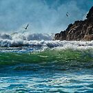 Whale's Head Beach Southern Oregon Coast by Diane Schuster