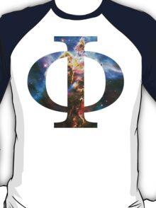 God's Domain [Carina Nebula] | Uppercase Phi T-Shirt