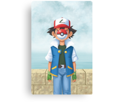 The Son of Pokemon Canvas Print