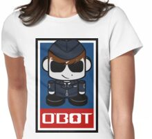 Aim High Air Force Hero'bot 2.1 Womens Fitted T-Shirt