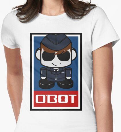 Aim High Air Force Hero'bot 2.1 Womens Fitted T-Shirt