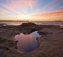 Autumn Sunrise - Point Lonsdale by Andrew Widdowson