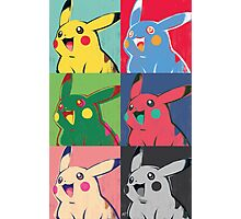 Warhol Pikachu Photographic Print