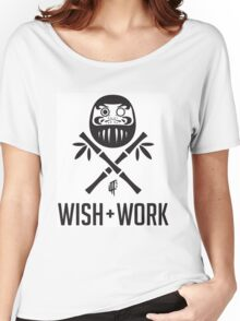 Wish and Work Women's Relaxed Fit T-Shirt