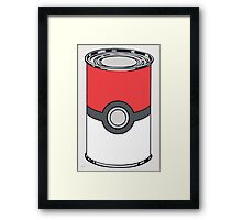 Soup Can Framed Print