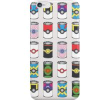 Pokeball Soup Cans iPhone Case/Skin
