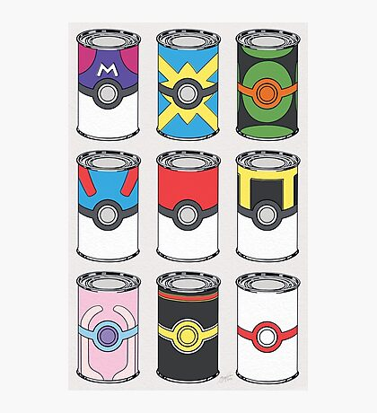 Soup Cans Photographic Print