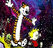 Calvin And hobbes in Nebula by ReallityArtwork
