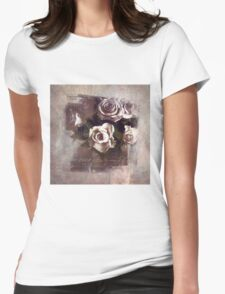 Expressive Roses Womens Fitted T-Shirt
