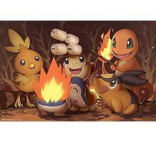 Fire Type Photographic Print